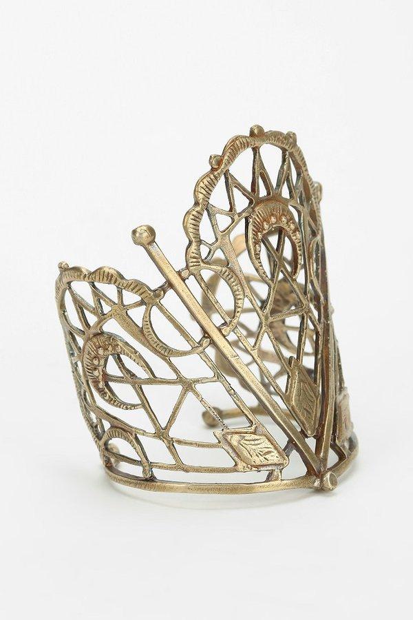 Bing Bang Sacred Geometry Cuff Bracelet