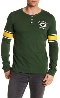 Junk Food Clothing Green Bay Packers Henley