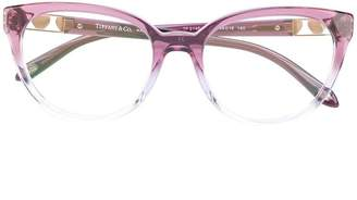 Tiffany & Co. Eyewear cat-eye gradient glasses