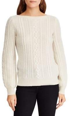 Lauren Ralph Lauren Classic Wool And Cashmere Sweater