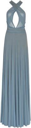 Elie Saab Knit Maxi Dress