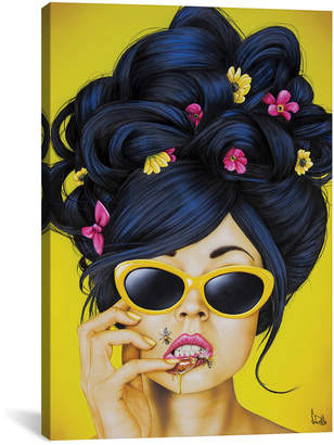 iCanvas icanvasart Honey Lips By Scott Rohlfs