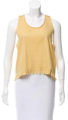 MM6 MAISON MARGIELA MM6 Maison Martin Margiela Sleeveless Woven Top