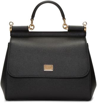 Dolce & Gabbana Black Medium Miss Sicily Bag $1,695 thestylecure.com