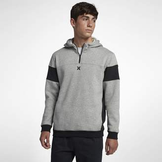Hurley Surf Check Quarter-Zip Pullover Men's Hoodie