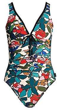 Shan Women's Clara Floral-Print One-Piece Swimsuit