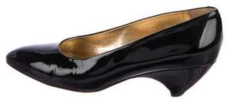 Walter Steiger Patent Leather Low-Heel Pumps