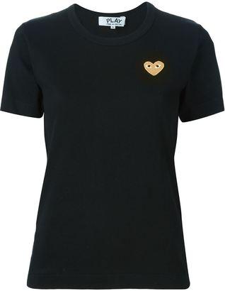 Comme Des Garçons Play 'Gold Heart' T-shirt $96 thestylecure.com