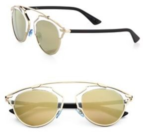 Dior So Real 48MM Pantos Sunglasses $595 thestylecure.com