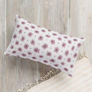 Floral Doodle Lumbar Pillow