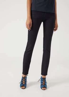 Emporio Armani J23 Super Skinny Jeans In Stretch Denim