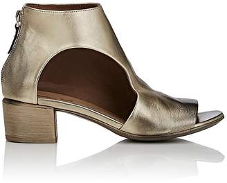 Marsèll Women's Cutout Leather Open-Toe Ankle Boots