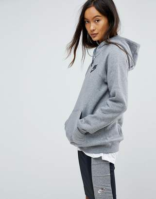 Nike Rally Pullover Hoodie In Grey