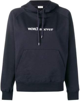 Wood Wood embroidered hoodie