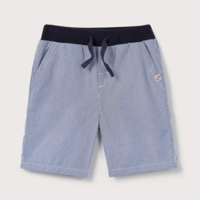 Ticking Stripe Woven Shorts (1-6yrs)