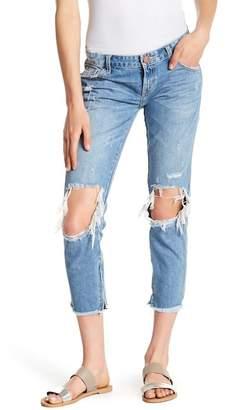 One Teaspoon Blue Bone Freebirds Straight Leg Jeans