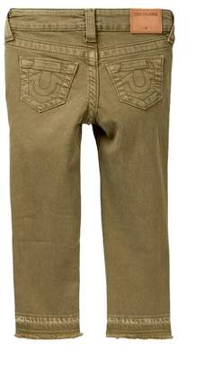 True Religion Casey Ankle Skinny Jeans (Toddler & Little Girls)
