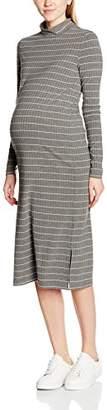 Mama Licious MAMALICIOUS Women's MLMIE L/S JERSEY DRESS Maternity Dress,(Manufacturer size: Large)