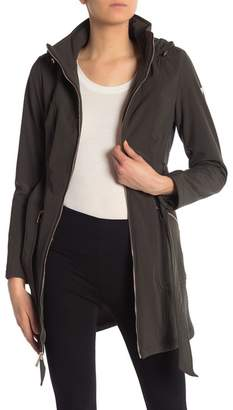 GUESS Hooded Belted Coat