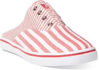 Ralph Lauren Jaida Striped Laceless Sneaker
