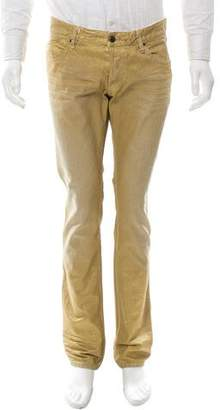 Just Cavalli Sheen Flat Front Jeans w/ Tags