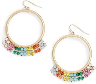 Loren Hope Emma Circle Drop Earrings