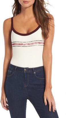 Women's Sun & Shadow Strappy Cami Bodysuit $29 thestylecure.com