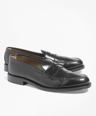 Brooks Brothers Cordovan Unlined Penny Loafers