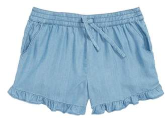 Tucker + Tate Ruffle Chambray Shorts