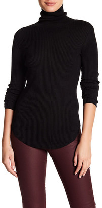 Acrobat Turtleneck Ribbed Texture Sweater $150 thestylecure.com