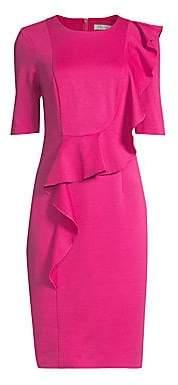 Trina Turk Women's Frolic Ruffled Sheath Dress