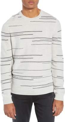 Calibrate Modern Stripe Crewneck Sweater