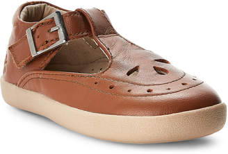 Old Soles Toddler Girls) Tan Tea T-Strap Mary Jane Shoes