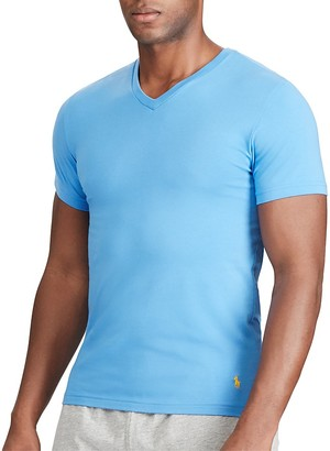 Polo Ralph Lauren V-Neck Tee, Pack of 2 $34.50 thestylecure.com