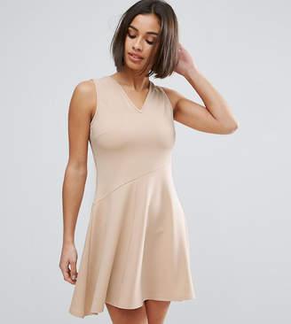Asos Skater Dress with Asymmetric Full Skirt Dress with V Neck