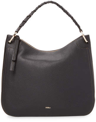 Furla Rialto Leather Hobo