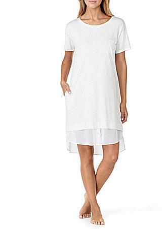 DKNYDKNY Jersey & Chiffon Sleepshirt