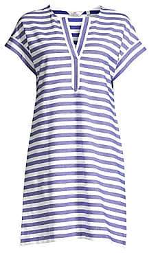Vineyard Vines Vineyard Vines Women's Striped Knit Swing Dress