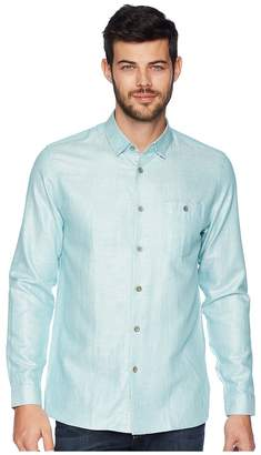 Ted Baker Linlins Long Sleeve Linen Woven Shirt Men's Clothing