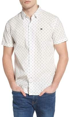 Scotch & Soda Classic Fit Print Woven Shirt