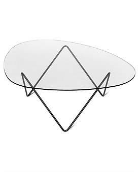 Gubi Pedrera Glass Table