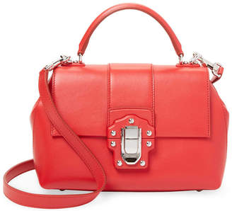 Dolce & Gabbana Lucia Leather Satchel