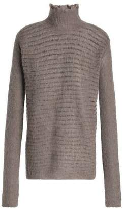 Rick Owens Ribbed-Knit Turtleneck Sweater
