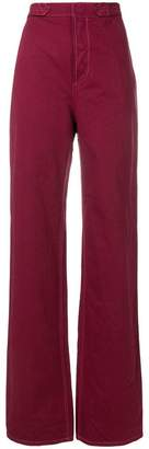 Marni straight fit utility trousers