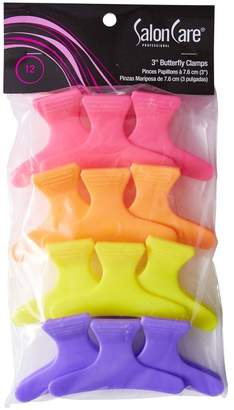 """Salon Care 3"""" Butterfly Clamps"""