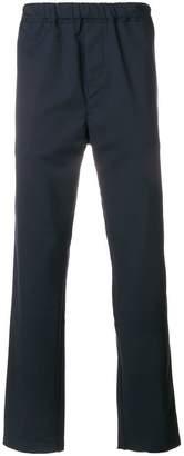 Oamc straight-leg elasticated trousers