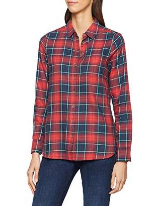 Fat Face Women's Olivia Check Shirt, Red