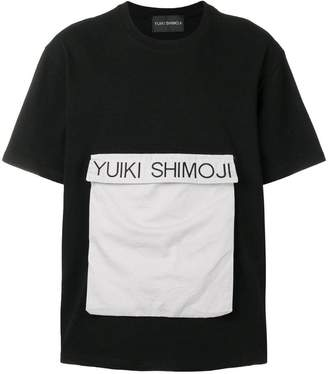 Yuiki Shimoji flap pocket T-shirt