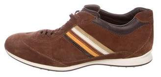 Tod's Suede Striped Sneakers