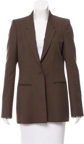 GivenchyGivenchy Wool Notch-Lapel Blazer